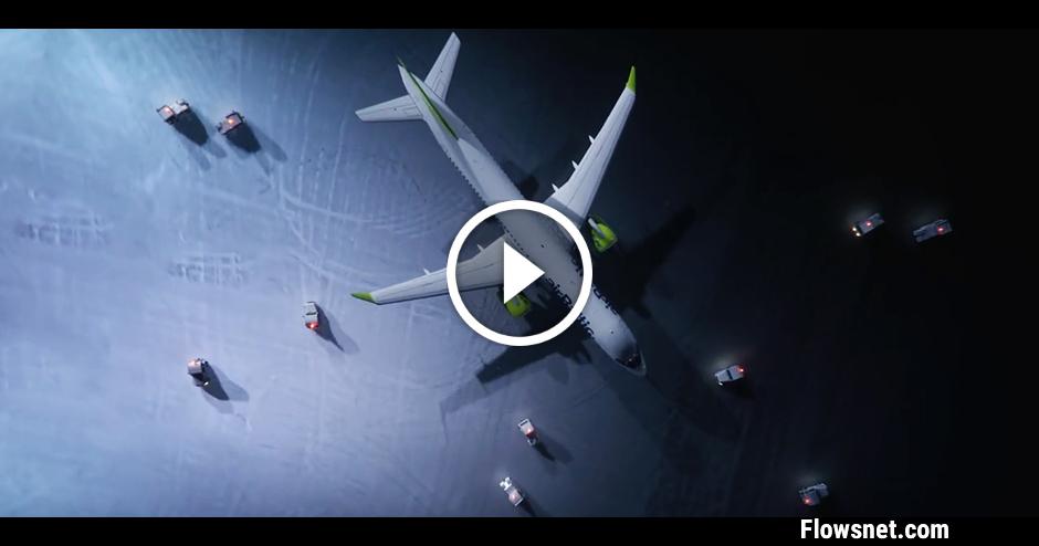 VIDEO: IESPAIDĪGI! PIRMAIS airBaltic LIDMAŠĪNU BALETS PASAULĒ