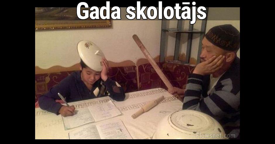 GADA SKOLOTĀJS