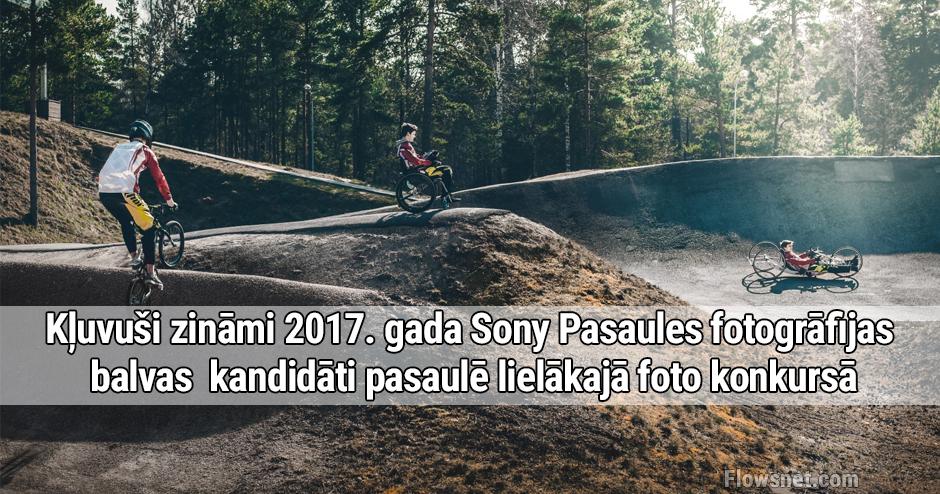 Kļuvuši zināmi 2017. gada Sony Pasaules fotogrāfijas balvas kandidāti pasaulē lielākajā foto konkursā