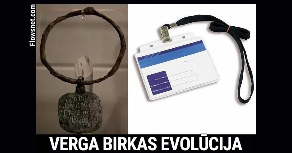 VERGA BIRKAS EVOLŪCIJA