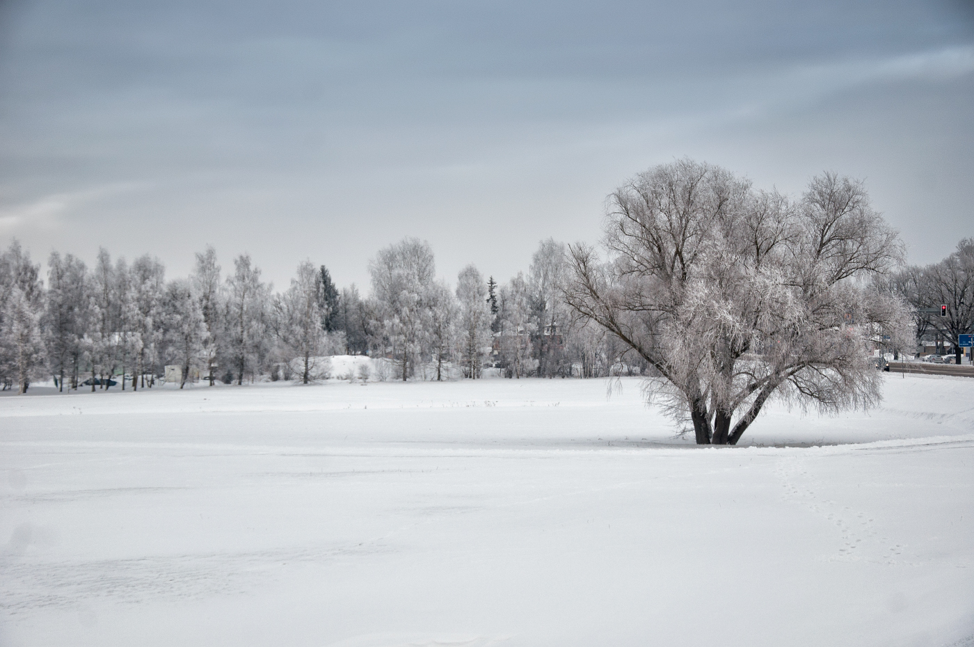 Jelgava pie -14 °C 07.01.2017