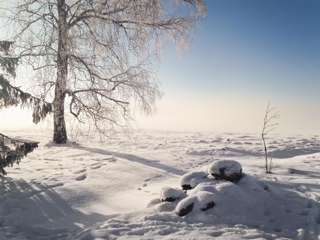 Mobilā reportāža: Platonē migla mijās ar sauli