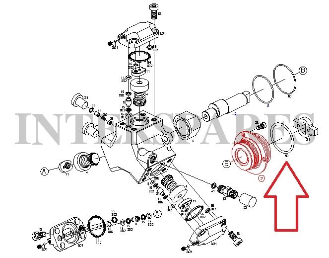 bosch common rail fuel pump o