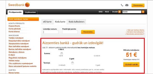 Par bankām. Kredīti, pakalpojumi, nianses, notikumi - Page 3 Swb-ieeja.sized